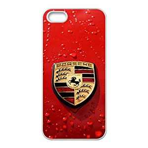 Porsche White Phone Case For iPhone 5s