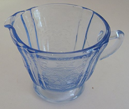 Vintage Estate Find Pretty Blue Glass ()