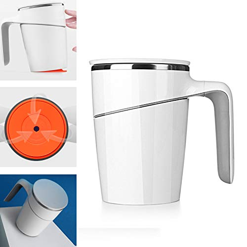 (16 Ounces (470ml) Tumbler Mug Water Coffee Milk Juice Tea Mug Suction Cup Sealing Cap Double Vacuum Stainless Steel)