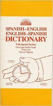 Barron's Spanish-English/English-Spanish Dictionary ... - photo#9