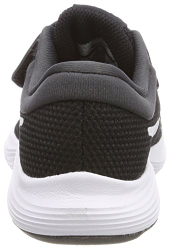 Nike Boys' Revolution 4 (PSV) Running Shoe Black/White-Anthracite 2Y Youth US Little Kid by Nike (Image #2)