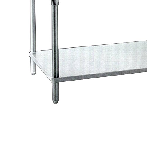 Zanduco 24'' x 48'' Stainless Steel Undershelf For Stainless Steel Worktables 47000-039