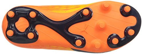 Puma Kids evoSPEED 17.5 FG Jr Skate Shoe Ultra Yellow-peacoat-orange Clown Fish