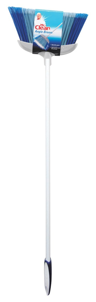 Mr. Clean 441380 Deluxe Angle Broom, 5 1/2