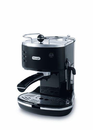DeLonghi ECO310BK 15-Bar-Pump Espresso Machine, Piano Black