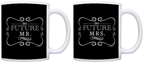 Bridal Shower Gifts Future Mr & Mrs Bride Groom Wedding Gift