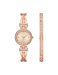Folio FMDWS189 Reloj Extensible Análogo para Mujer, color Rosa