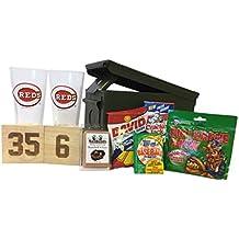 Ammo Gift Box Baseball Gift Package - MLB Cincinnati Reds