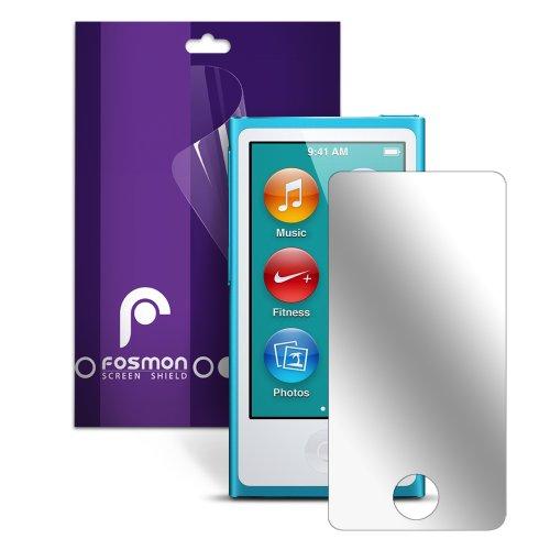 Fosmon Mirror Screen Protector Shield for iPod Nano 7th Generation 7G 7 - 1 Pack
