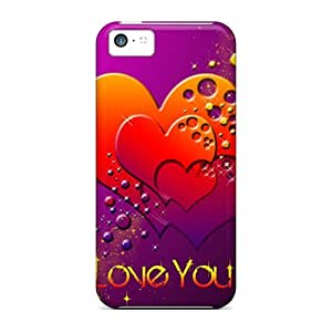 Tpu Case Cover Compatible For Iphone 5c/ Hot Case/ Love You