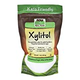 NOW Foods, Xylitol, Pure with No Added Ingredients, Keto-Friendly, Low Glycemic Impact, Low Calorie, 1-Pound