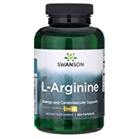 Swanson L-Arginine, 500mg, 200 Capsules