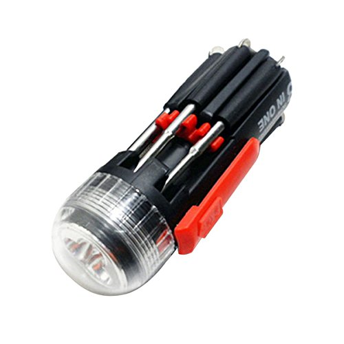 8 in 1 Multi-Screwdriver Set With LED Torch - 6