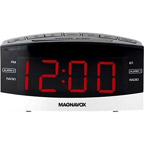 Amazon.com: Magnavox mr41806bt Dual Radio Reloj digital ...