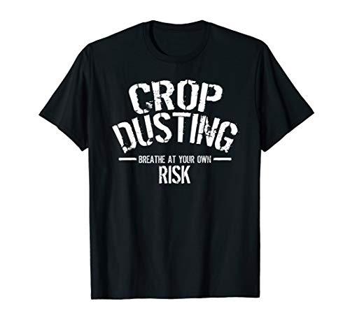 Crop Dusting Shirt - Toilet Humor Office Prank Tee