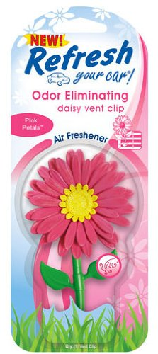 Refresh Daisy Vent Clip Car & Home Odor Eliminating Air Fres
