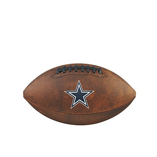 NFL Junior Throwback Team Logo Football - Dallas Cowboys