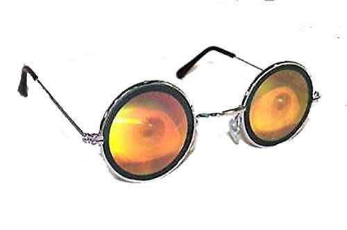 Round Eye Ball Hologram 3d Mirror - Sunglasses Eyeball