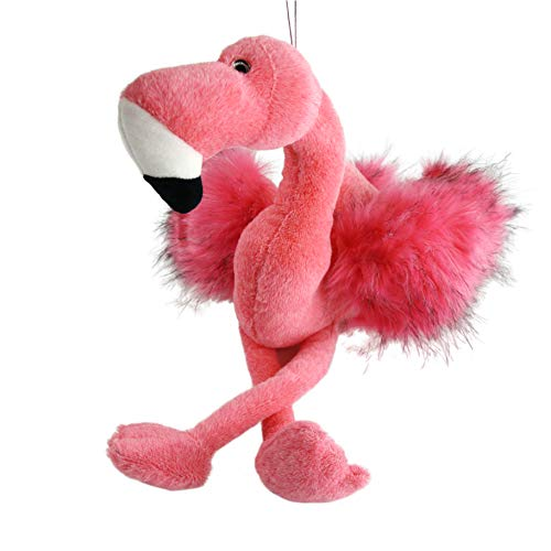 Athoinsu 20'' Flamingo Stuffed Animal Furry Pink Soft for sale  Delivered anywhere in USA