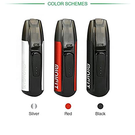 Justfog Minifit - Cigarrillo electrónico más pequeño del mercado, color plateado, batería de 370 mAh, depósito de 1,5 ml (producto sin nicotina)