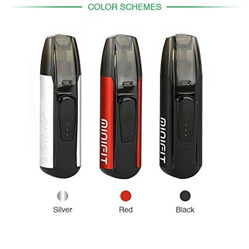 Justfog Minifit - Cigarrillo electrónico más pequeño del mercado, color plateado, batería de 370 mAh, depósito de 1,5 ml (producto sin nicotina): Amazon.es: ...
