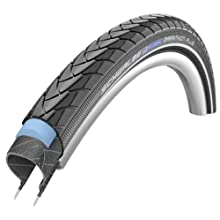 Schwalbe Marathon Plus SmartGuard Endurance - Cubierta de Bicicleta (590 mm, con Revestimiento Interior de Alambre) Negro Negro Talla:42/590