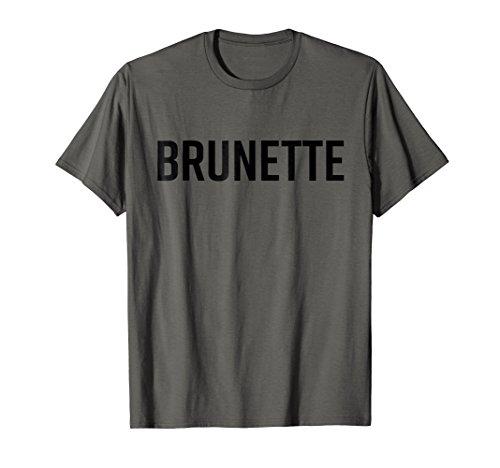 Brunette Shirt Dark Brown Black Hair T-Shirt Blonde Friends