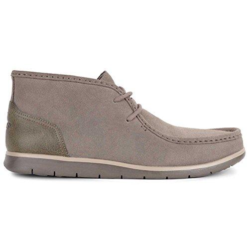 UGG Mens Hendrickson Leather Boot Dark Fawn