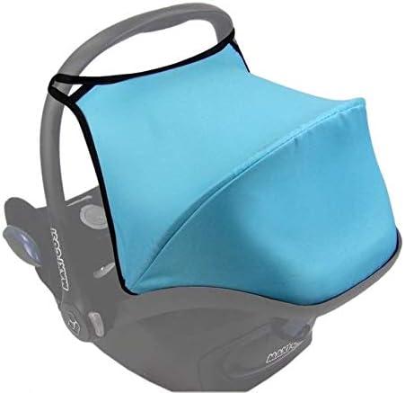 black Maxi Cosi Cabriofix Sun Canopy Hood Shade UV PROTECTION
