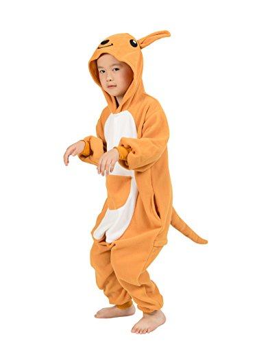 BELIFECOS Childrens Kangaroo Costumes Animal Onesies Kids Homewear Pajamas 125