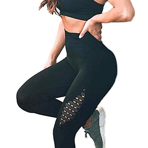 ctive Energy Leggings Slimming Seamless Compression Fit Pants Workout Tights Tummy Control S ()