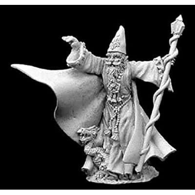 Reaper Miniatures Torm Goldentome #02913 Dark Heaven Legends Unpainted Metal: Toys & Games