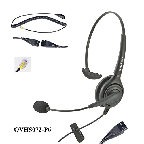 OvisLink Professional Monaural Call Center Headset for Cisco Unified IP Phones
