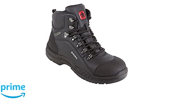 Baak 6690 - Botas de protección construcción grande src wr impermeable zapatos de bgr191 bruce s3, negro, 45-00-: Amazon.es: Industria, empresas y ciencia