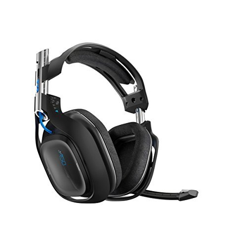 ASTRO Gaming Refurbished A50 Wireless Headset PS4, Black by ASTRO Gaming
