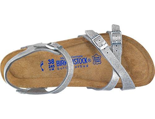 Birkenstock Mayari 1005023 Chaussons Femme Silber