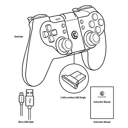 Gamesir T1s Bluetooth Wireless Gamepad Controller Joystick For