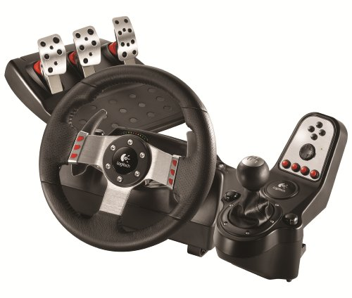 - Logitech G27 Force Feedback Wheel and Pedal Set (PS3/PC DVD)