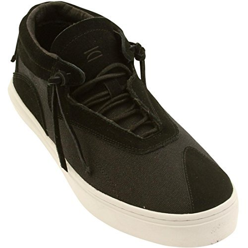 Clear Weather Everest Midtop Sneaker in Black