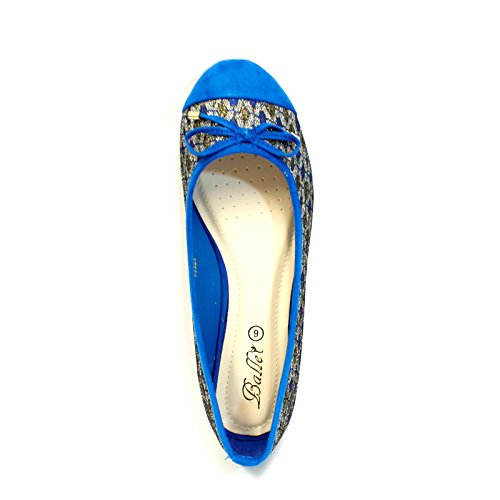 Ballet EnvyLondon mujer mujer Ballet EnvyLondon EnvyLondon Azul mujer Ballet Azul w0v47nA0q