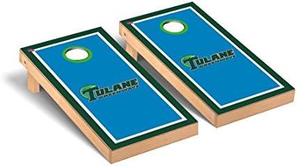 Universidad de Tulane ola verde Cornhole Juego Set - VT15704 ...