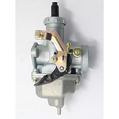 Carburetor & W/ Throttle Cable For Honda CM185 CM185T CM200 CM200T Twinstar 200: Automotive