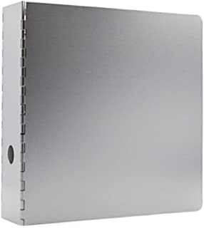 amazon com saunders recycled aluminum ring binder 2 inches spine