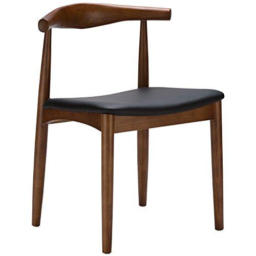 Poly and Bark Wegner Style Elbow Chair, Walnut ()