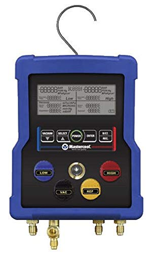 (Mastercool 99961 4-Way Digital Manifold w/3-60