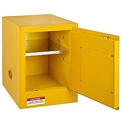 BestEquip Flammable Cabinet Galvanized S...
