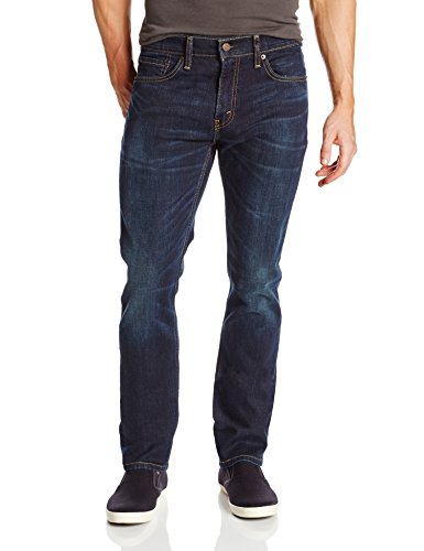 Levi's Men's 511 Slim Fit Jean, Sequoia - Stretch, 31W x 32L (Blue Levis Dark)