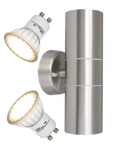 32 opinioni per Long Life Lamp Company- Doppia lampada da parete a LED, 8 W, Zenon lighting