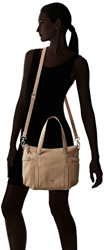 104 Weber M Pink Bag Gerry Woman taupe Gray Handbag With Handles Grau xZPng