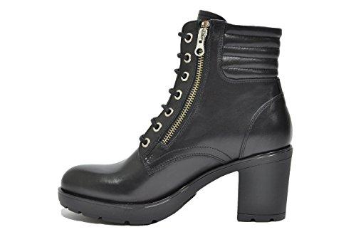 Nero Giardini Anfibi tronchetti nero 6522 scarpe donna A616522D